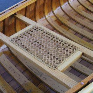 hand-woven cane seats - ash