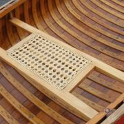 hand-woven cane seats – maple