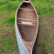 Greenwood canoe circa 1950