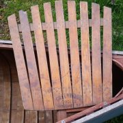 Greenwood canoe circa 1950 back rest